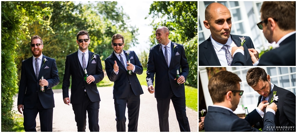 Groomsmen reservoir dogs pose