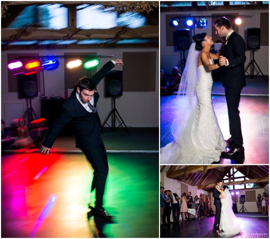 First dance at Wethele Manor