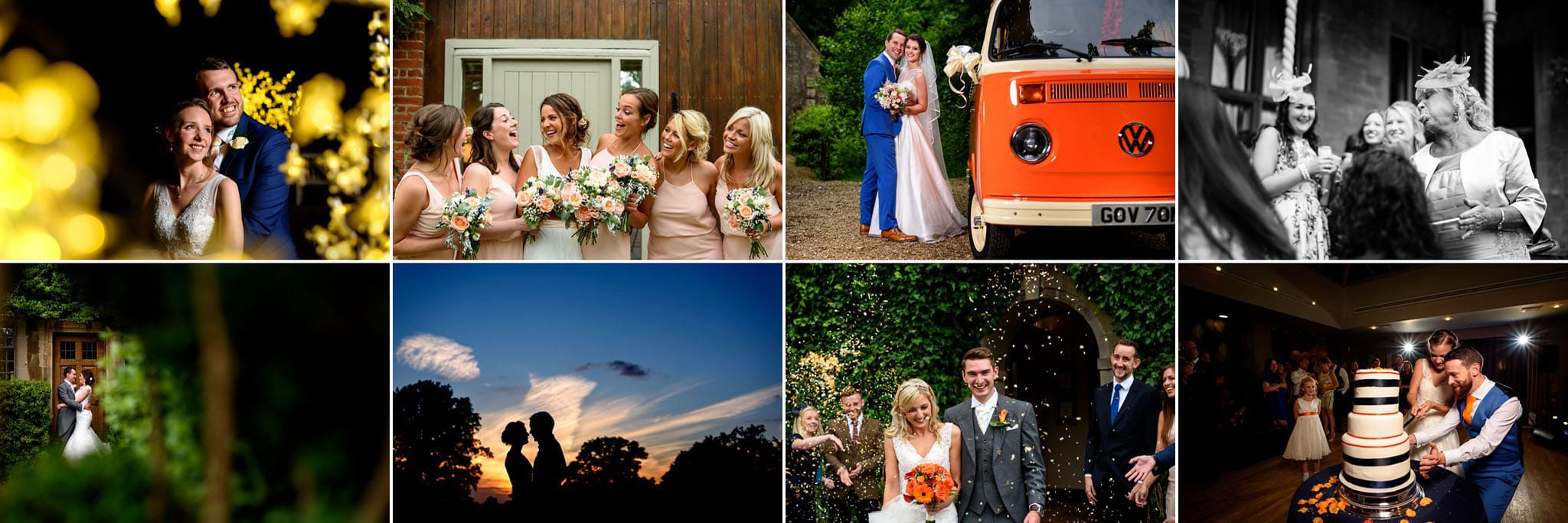 a banner of some of my favourite wedding images from 2016