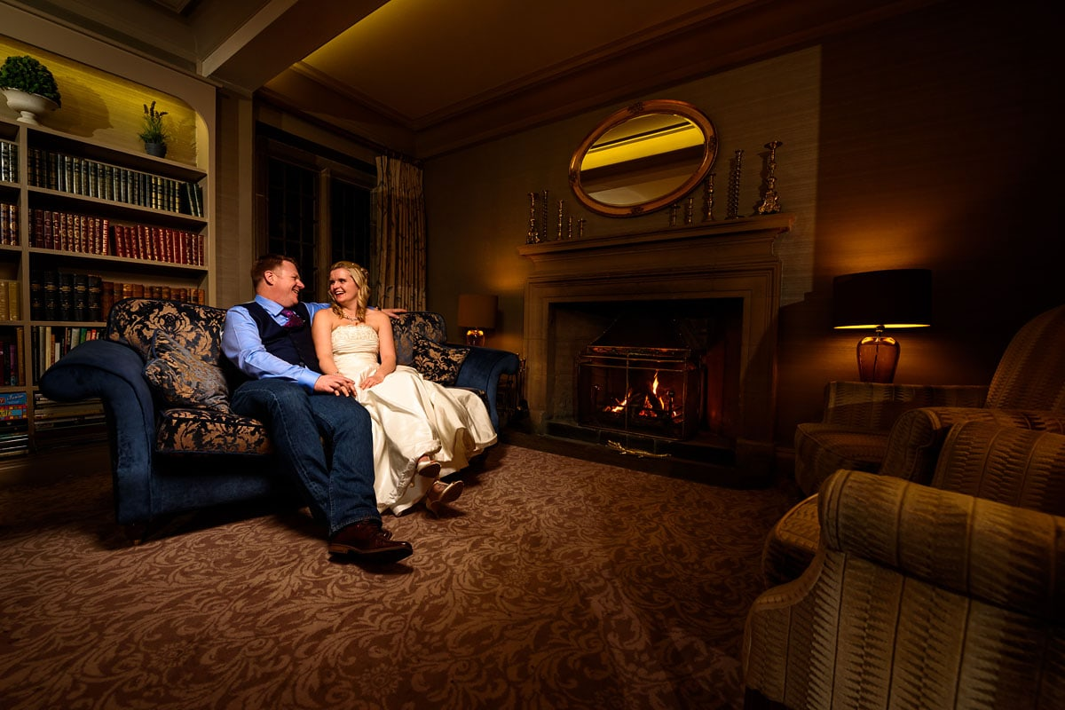 Mallory Court Wedding Photography: Clare & Jon's Preview