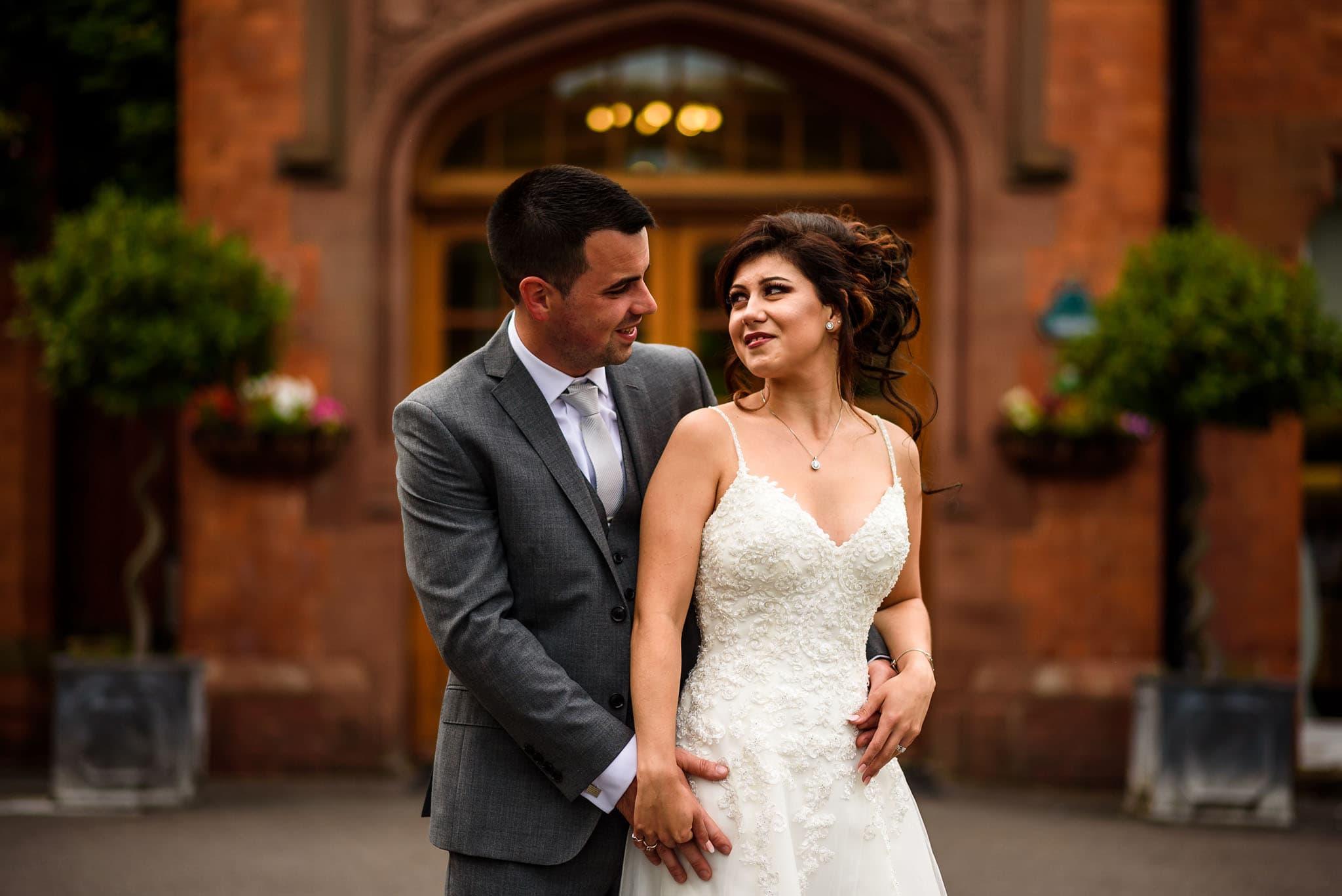 David and michaela wedding