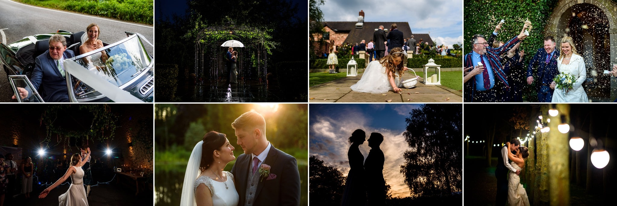 a banner of some of my favourite wedding images from 2017