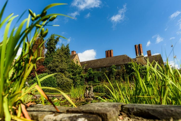 mallory court in the summer viewed from the rear gardens